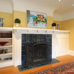 Upstairs Living Room Fireplace
