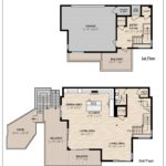 Floor Plan - 1st & 2nd Floors