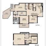 Floor Plan - 3rd & 4th Floors